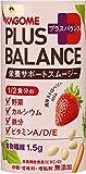 カゴメ Plus Balance 栄養サポートスムージー 濃厚ストロベリーMix 125ml ×30本