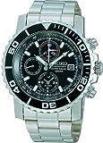 [セイコーimport]SEIKO 腕時計 逆輸入 海外モデル ブラック SNA225PC メンズ
