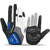 INBIKE Core Full Finger Unisex Road Bike Gloves with 5mm Pad IFF239