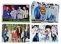 SHINee シャイニー ポストカード セット ( ポストカード 12枚 + ステッカー 3枚 ) 15点セット