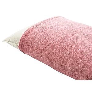 (セシール)cecile 枕カバー のびのびパイル枕カバー(無地) ローズピンク A CR-888 CR-888