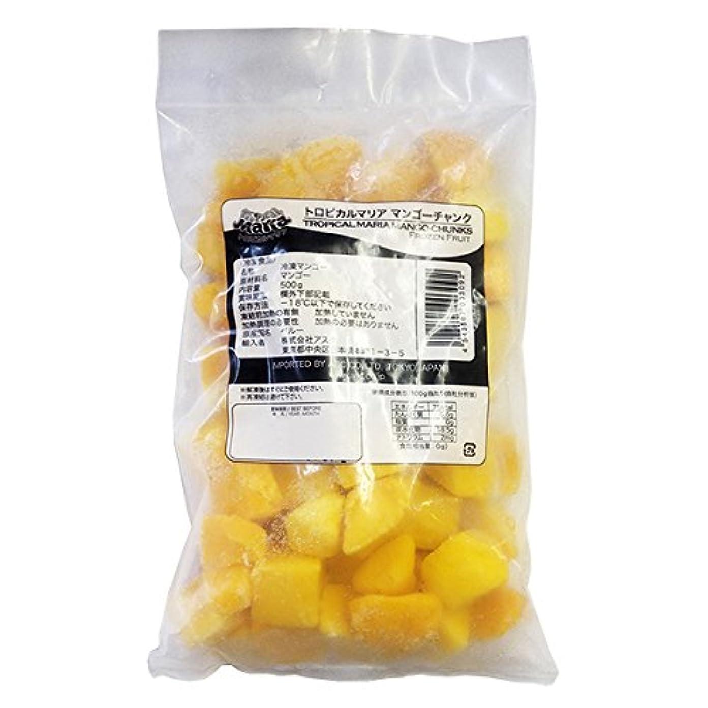 リスキーな入り口舗装するマンゴーチャンク 冷凍 500g(5個分)×10袋(5kg) トロピカルマリア