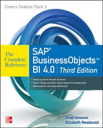 Download SAP BusinessObjects BI 4.0 The Complete Reference 3/E 0071773126
