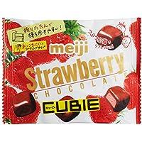 明治 ストロベリーチョコレートCUBIE 28g×10袋