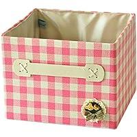 カバーされていない引き出しデッドボックス折りたたみ可能な雑貨オーガナイザボックス収納バスケットI