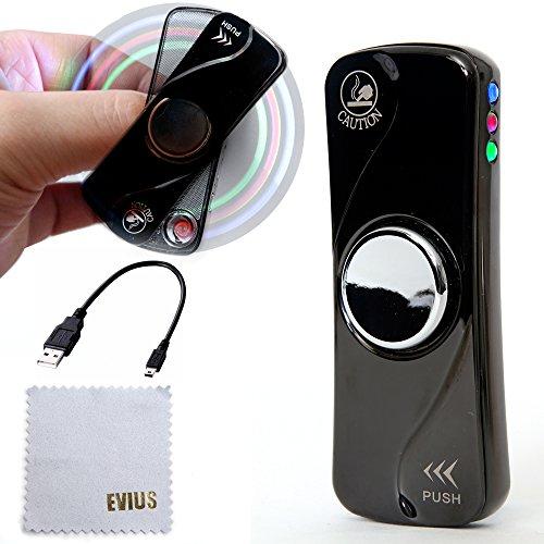 EVIUS 電子ライター スピナーライター 高回転 1~4分...