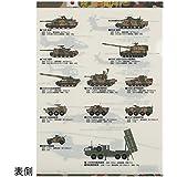 自衛隊グッズ クリアファイル 陸上自衛隊 装備品各種柄