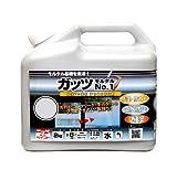 ニッペ 水性フッ素系着色防水剤 ガッツモルタルNo.1 2kg ライトグレー
