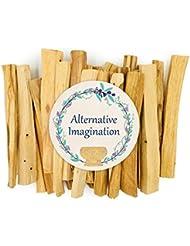 プレミアムPalo Santo Holy Wood Incense Sticks 4オンス、100 %自然と持続可能な、野生の収穫。