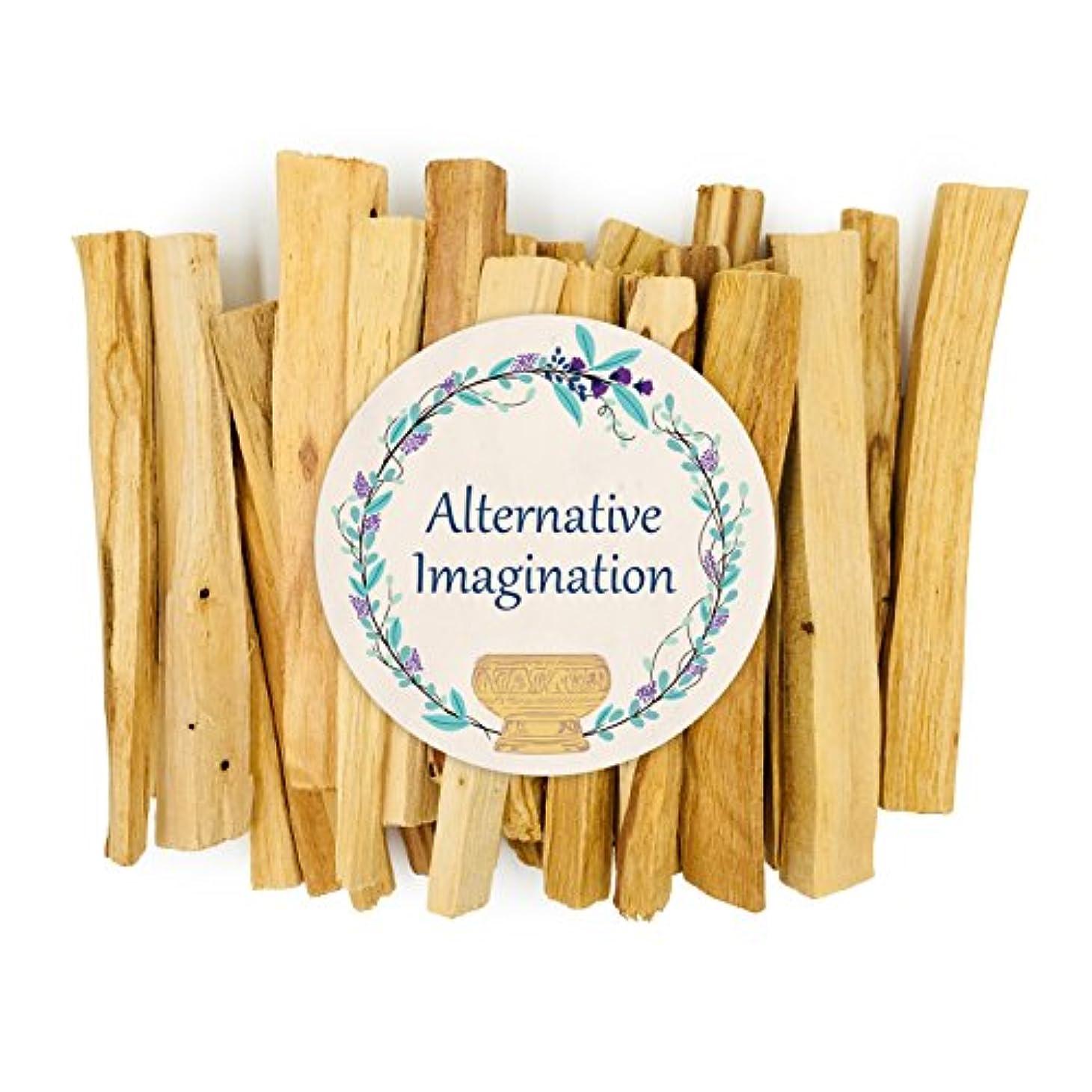 ライトニング架空のそっとプレミアムPalo Santo Holy Wood Incense Sticks 4オンス、100 %自然と持続可能な、野生の収穫。