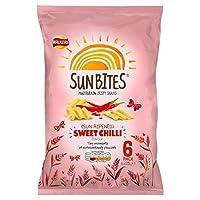 パックあたりの歩行者Sunbites甘い唐辛子25グラム×6 (x 2) - Walkers Sunbites Sweet Chilli 25g x 6 per pack (Pack of 2) [並行輸入品]