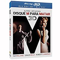 Blu-ray 3D Disque M Para Matar [ BRAZILIAN EDITION ] Dial M for Murder [ Audio and Subtitles in English + Spanish +