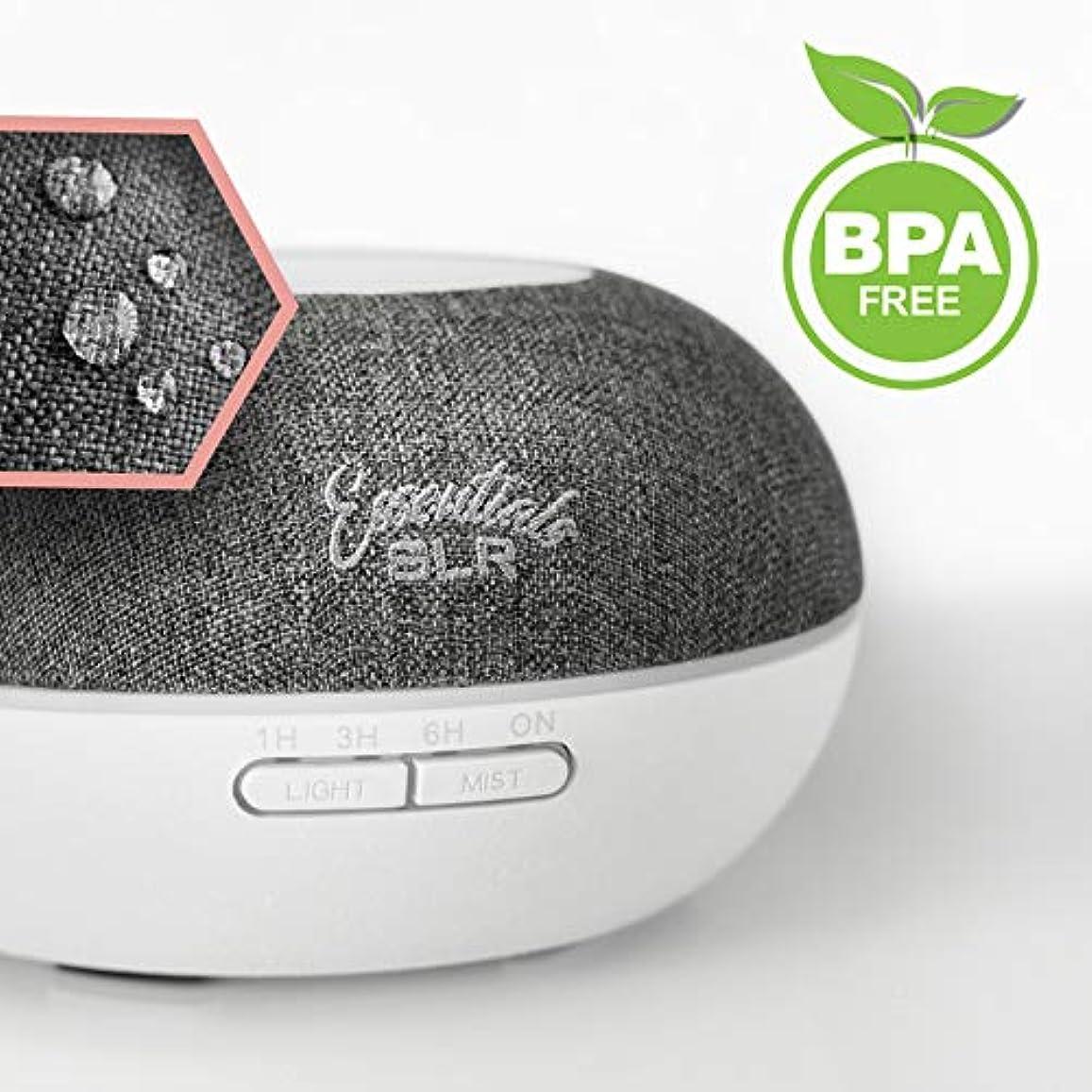 男やもめ口空中SLR 500 ml Aromatherapy Essential Oil Large Diffuser BPAフリー超音波空気加湿器withマルチカラー変更LED、自動遮断 500ml SLR:900-00055