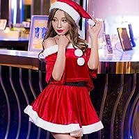 サンタ コスプレ サンタクロース スカート 帽子 セパレート クリスマス サンタコス セット 大人 セクシー レディース コスチューム コスチューム一式 サンタクロース 衣装 仮装 可愛い 男ウケ ハロウィン コスプレ コス