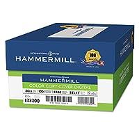 Hammermill 133200コピー機デジタルカバーストック、80ポンド、18x 12、フォトホワイト、1000シート