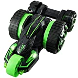 ラジコン 5輪型 アクロバット走行 360°スピン 変形 『5ROUND STUNT』 グリーン OnSUPPLY OA-686G