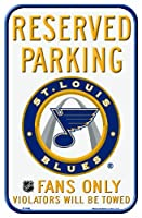 NHL St. Louis Blues 28cm by 43cm Locker Room Sign