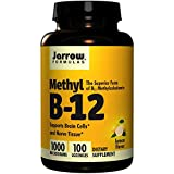 Jarrow Formulas メチルB-12 (ビタミンB12) レモン風味 1000mcg 100粒 [並行輸入品]