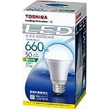 東芝 E-CORE(イー・コア) LED電球 一般電球形7.1W(E26口金・660ルーメン・昼白色) LDA7N-H