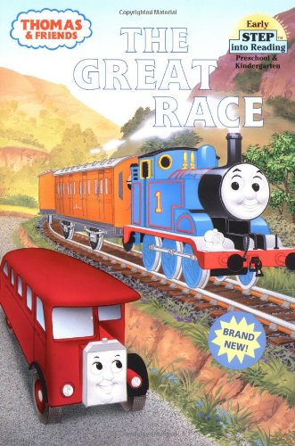 The Great Race (Thomas & Friends) (Step into Reading)の詳細を見る