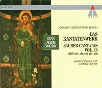 Bach;Sacred Cantatas Vol.10
