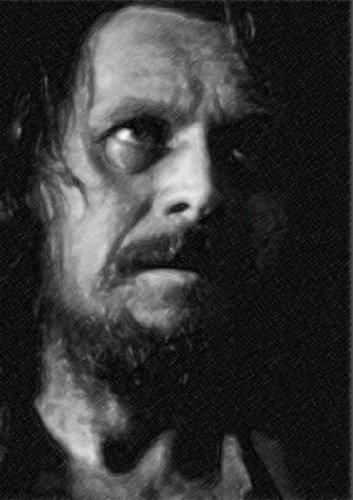 GARY OLDMAN / ゲイリー・オールドマン - オリジナルアートプリント(LARGE A3 - アーティストによって署名されました) #js002