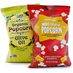 トレーダー・ジョーズ ポップコーン スナック 2種類 Trader Joe's Popcorn Snacks (各 1袋ずつ)