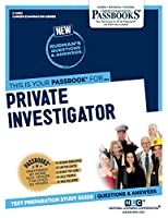 Private Investigator (Career Examination)