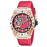 [Hydrogen] 腕時計 VENTO HW424405 メンズ レッド