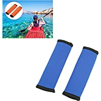 ノンスリップソフトカヤックカヌーパドルグリップ15cmダイビングファブリックカヌーパドリンググリップ効率的なパドリングのために選択する3色