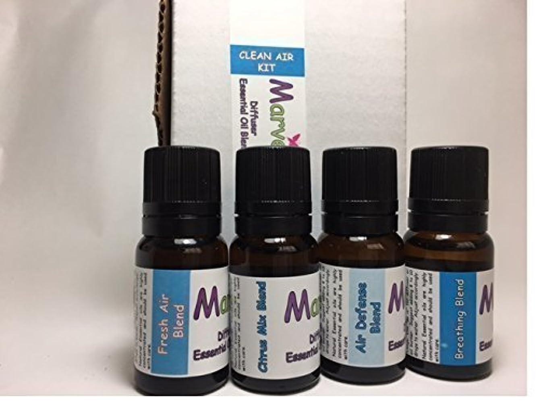 肉屋従事するディレクターAroma Diffuser essential oil blends- CLEAN AIR kit- 100% pure oil [並行輸入品]