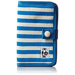 [チャムス] スマートフォンケース Notebook Style Mobile Case Sweat CH60-2361-A047-00 A047 Blue/Natural