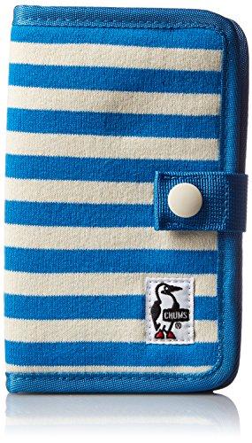 [チャムス] スマホケース Notebook Style Mobile Case Sweat CH60-2361-A047-00 A047 Blue/Natural