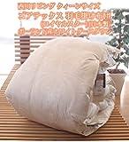 西川リビング クィーンサイズ ゴアテックス 羽毛掛け布団(ロイヤルスター)(日本製) ポーランド産ホワイトグースダウン