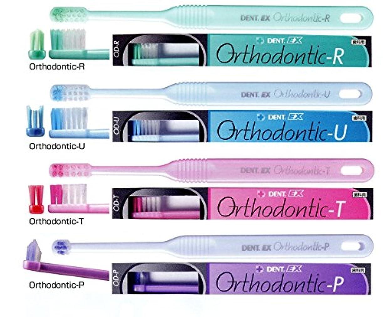完全に乾く可動インチライオン オルソドンティック 歯ブラシ DENT.EX Orthodontic-P/パールパープル
