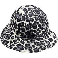 XueXian Leopard Short Brim Bucket Hat Cap Elegant Fishing Hat for Ladies  Womens 87f5c540a3b3