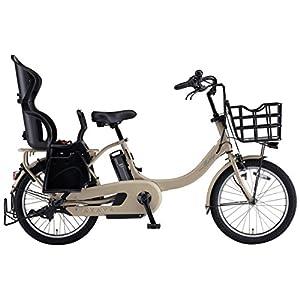 YAMAHA(ヤマハ) 電動アシスト自転車 2018年 ファミリーモデル PAS Babby un 20インチ 12.3Ahリチウムイオンバッテリー搭載 リヤチャイルドシート標準装備 PA20CGXB8J マットカフェベージュ