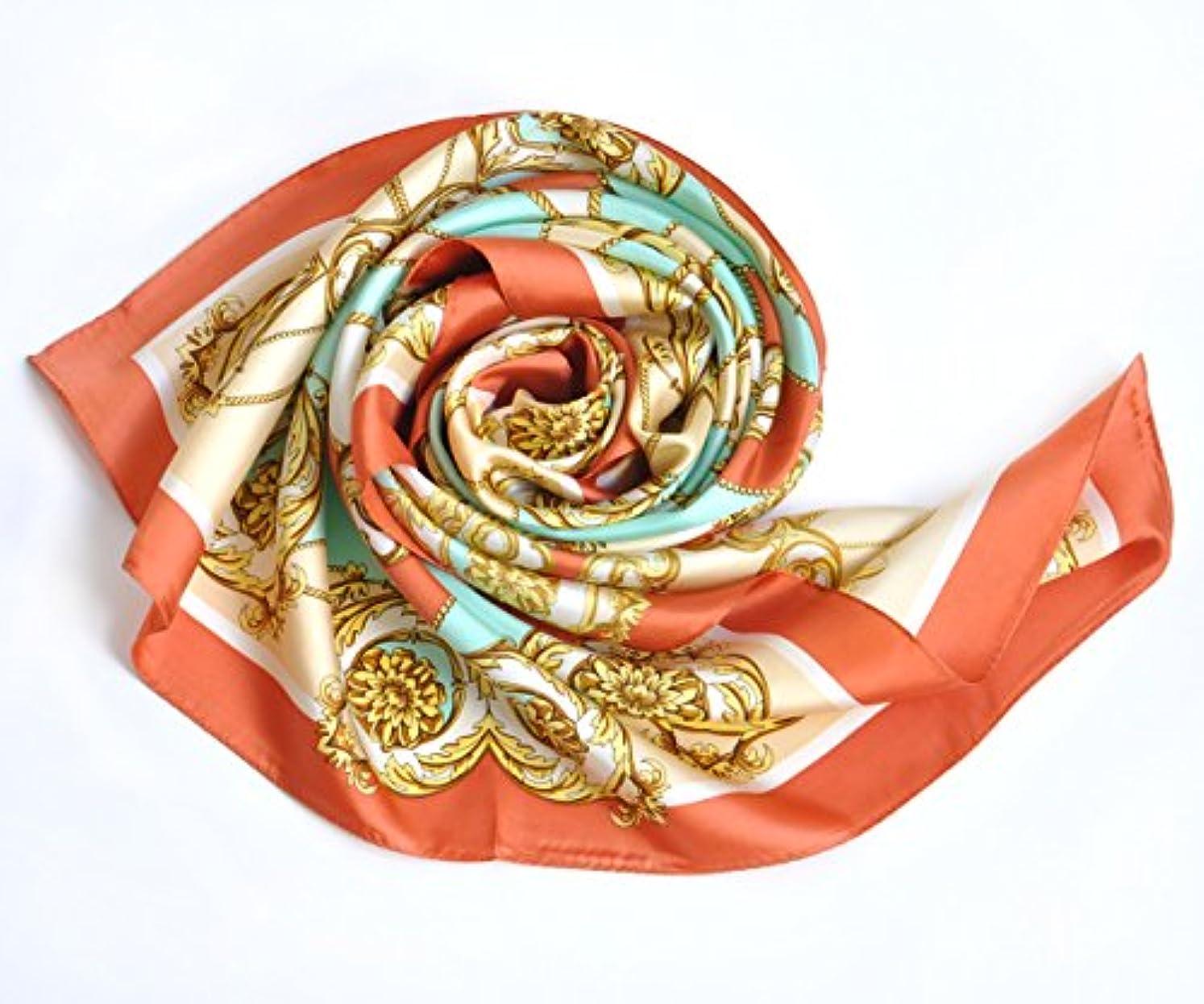 ダーツレギュラー本.Y 横浜 スカーフ シルク スカーフ 正方形 スカーフ 母の日 シルクツイル カルティエ