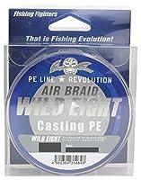 Fishing Fighters(フィッシングファイターズ) PEライン エアブレイド ワイルドエイト キャスティングPE 150m 0.6号 17.5lb ホワイト FF-ABWC150-0.6
