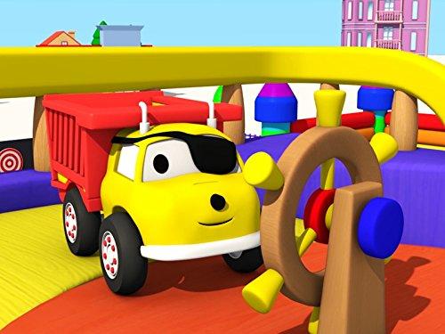 海賊船で色を学ぼう&パトカー: ダンプトラックのイーサンと色を学ぼう
