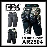[AR2504] LS HIP SHORT (ユニセックス) ヒッププロテクター[ショートタイプ] スノーボード 尻パッド (CAMO, [M]身長165-173cm ウエスト75-85cm)