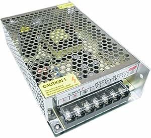 直流安定化電源 AC DC 12V コンバーター 安全保護 回路 装置 最大 (10A)