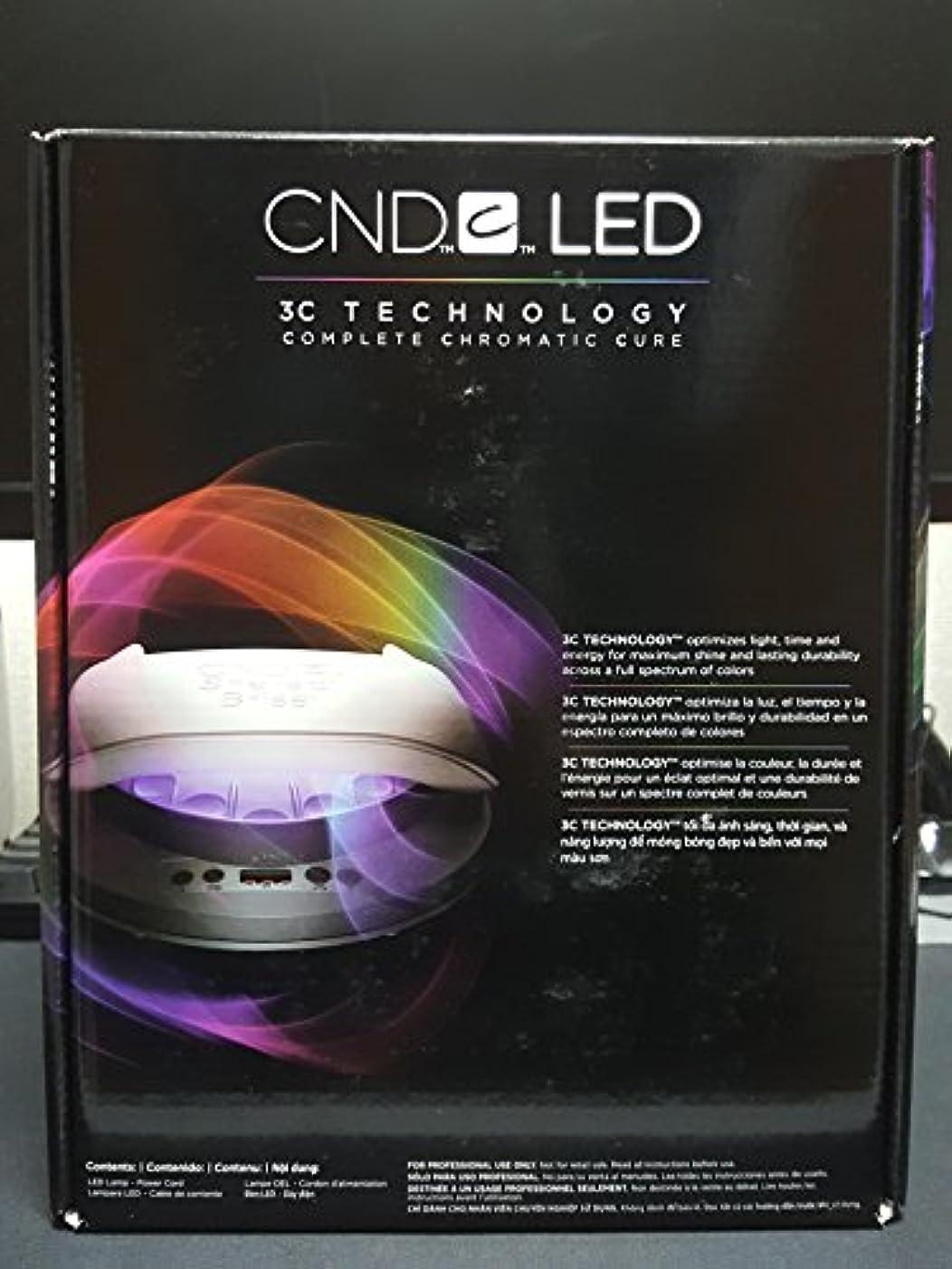著名なロボットラッドヤードキップリングCND LED Nail Lamp Light Gel Shellac 110-240V [並行輸入品]