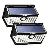 Mpow 63led センサーライト ソーラーライト IP65防水 3つ点灯モード 屋外照明 センサー時間30s 人感ライト 18ヶ月間保証 停電緊急対策 2019年新品 2個