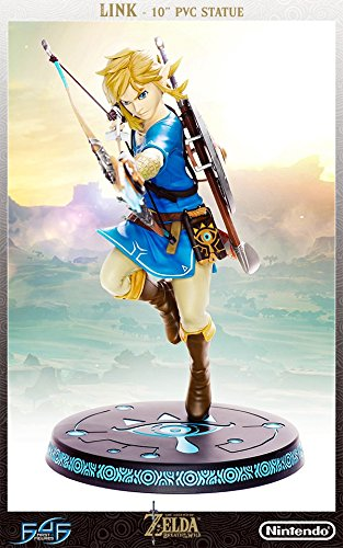 First4 The Legend of Zelda : Breath Of The Wild - Link PVC 10