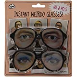 [ToyCentre]ToyCentre Weirdo Glasses His and Hers Party Funny Eyes Fancy Dress 70s Crazy Shades W6971 [並行輸入品]