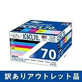 [アウトレット品] Myink インクカートリッジ IC6CL70L 互換インクカートリッジ [大容量タイプ/残量表示可能]【国際規格ISO9001品質】