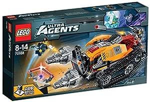 レゴ (LEGO) ウルトラ・エージェント ドリレックスのダイヤ強奪 70168