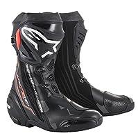 alpinestars(アルパインスターズ) バイクブーツ ブラック/ダークグレー/レッドフロー 41/26.0cm SUPERTECH-R(スーパーテックR) ブーツ0015