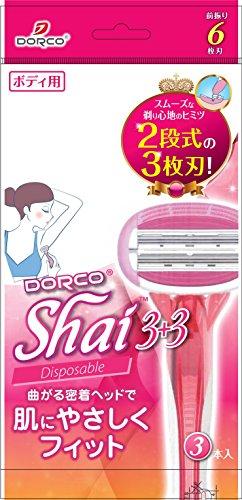 ドルコ(DORCO) Shai3 Disposable 3本入